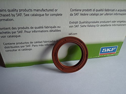 25x 35x 6SKF Viton Doppel Lip Oil Seal R23/TC Viton Gummi Edelstahl Strumpfband Spring -
