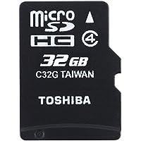 Toshiba High Speed M102 Carte mémoire microSDHC 32 Go (Classe 4)