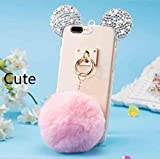 Best iphone 5s case Friend Iphone5 Cases - TAITOU iPhone5/SE Case, Cute Bear Mouse Shiny Diamond Review