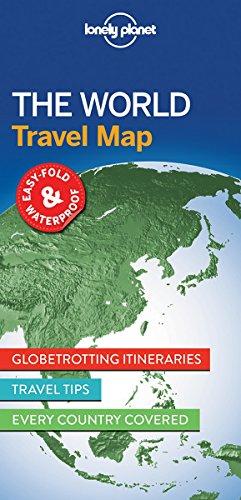 Descargar Libro The world travel map de Lonely Planet
