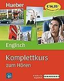 Komplettkurs Englisch zum Hören: Sprachen lernen ohne Buch bis Niveau B1 / 8 Audio-CDs + Begleitheft
