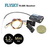Flysky FS-A8S Empfänger 2.4G 8CH Mini Receiver mit PPM iBUS SBUS Ausgang für FS i4 i6 i6S i6X TM10 TM8 Sender for FPV Racing RC Drone Quadcopter for FPV Racing RC Drone Quadcopter by LITEBEE