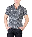 Hypernation Grey Color Paisley Printed S...