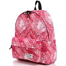 Niñas Mochila Escolar–HotStyle impermeable Doodle Bookbag de impresión para 13.3Laptop