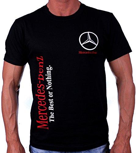 Mercedes-Benz Best or Nothing Camiseta Logotipo Etiqueta Pegatinas de