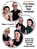 "Level one BSL DVD box set - ""First Steps British Sign Language steps 1,2 and 3"" (2011) Bild"