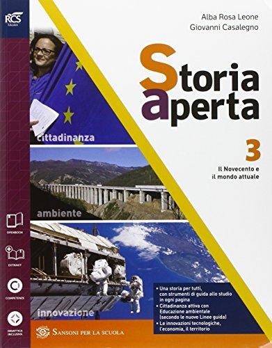 Storia aperta. Cibo e ospitalit. Con extrakit-Openbook. Per le Scuole superiori. Con e-book. Con espansione online: 3