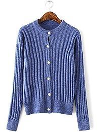 New Ladies Fashion Color sólido punto Camisa