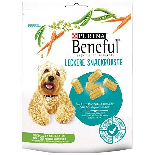 Beneful Leckere Snackbürste Hundesnack, Milch und Calcium, 6er Pack (6 x 130 g)