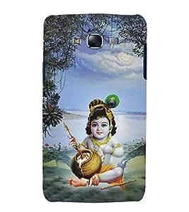 Aditya Krishna Kisna 3D Hard Polycarbonate Designer Back Case Cover for Samsung Galaxy J7 (2015) :: Samsung Galaxy J7 J700F (Old Version)