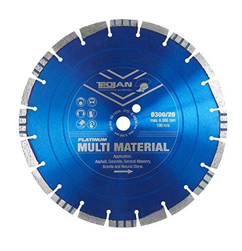 Platinum Multi Material/asphalt/Beton/indischen Stein/Natur Stein Diamant Trennscheibe Klinge/– 450mm/18In