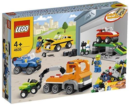 LEGO Classic - Ladrillos sobre ruedas (4635)
