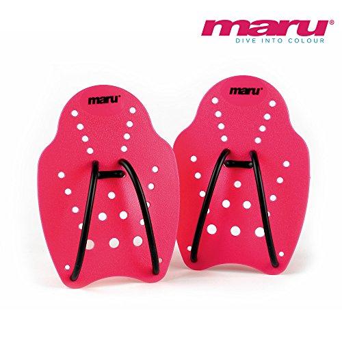 Maru Hand Paddle - Schwimm-Paddles - Pink - S