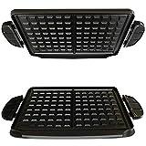 Spares2go waffle piatti per George Foreman Evolve grill System (confezione da 2)