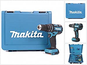Makita dHP 480 zK 18 v li-ion-perceuse-visseuse à percussion sans fil livré avec coffret de transport en plastique