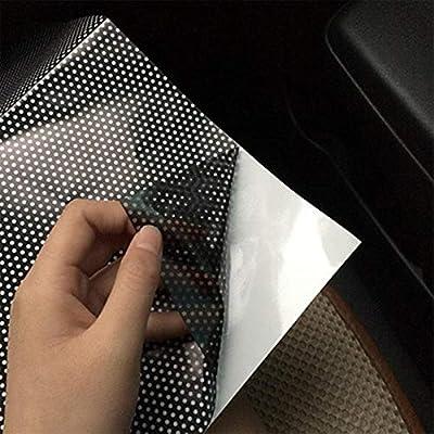DHDHWL Rideau De Voiture Voiture Statique Pare-Soleil Autocollants Fenêtre Verre Écran Solaire Rideau D'Isolation Rideau De Voiture Toit Ouvrant Pare-Soleil Pare-Soleil Film Anti-UV