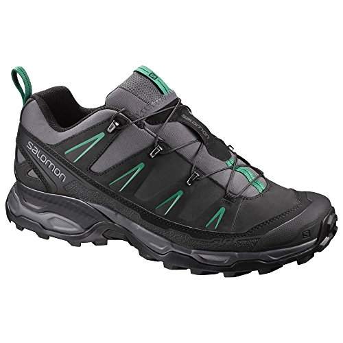 Salomon X Ultra LTR Leather Running Shoes, UK 8  (Black)