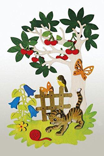 kuhnert-hobaku-15-x-22-cm-do-it-yourself-kit-de-decoration-de-fenetre-dete