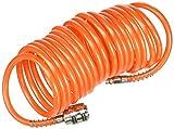 Metall 81500-tuyau Spiralbindung PU mit Schnellkupplungen 5x 8mm 5m