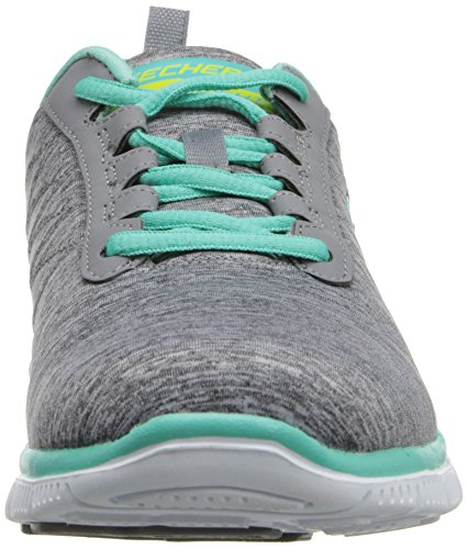Skechers Flex Appeal Next Generation Damen Sneakers Grau (Gymt)