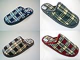 Zapatillas Casa Caballero Cuadros Talla 39-46 Surtido A Elegir 1