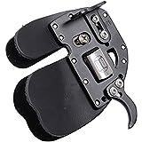 New DECUT RUGBII Archery Finger Tab Guard Leather Adjustable
