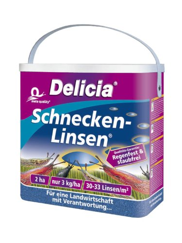 Delicia escargots de lentilles 6 kg