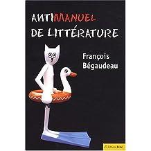 Antimanuel de littérature