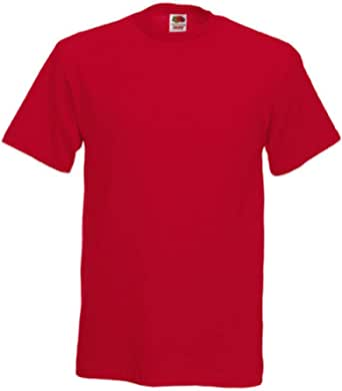Fruit of the Loom Mens Heavy T-Shirt