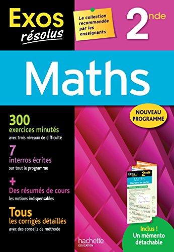 Exos Rsolus - Maths 2nde