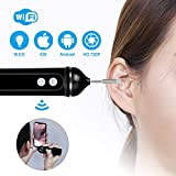 Otoskop, WiFi, 720P HD visuelle Ohrenschmalz Reinigungswerkzeug mit 6...