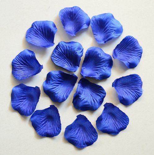 1000pc blu royal wedding table decorazione petali di rosa in seta flowers confetti 5 cm supplies wholesale