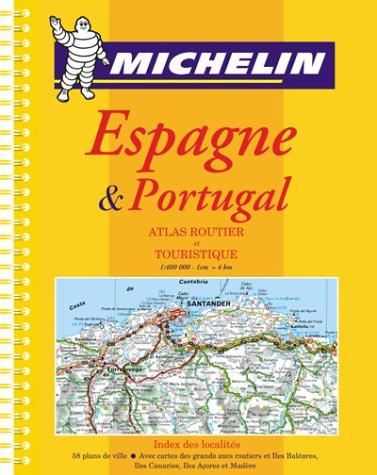 Atlas routiers : Espagne, Portugal (format A4, spirale)
