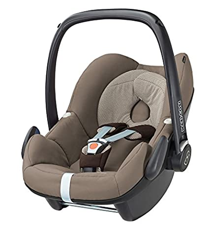 Maxi-Cosi Pebble, Babyschale Gruppe 0+ (0-13 kg), earth brown, ohne Isofix-Station