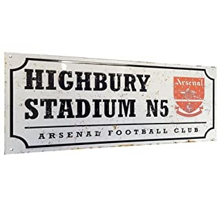 Retro Street Sign - Arsenal F.C