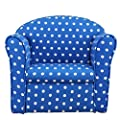 1home Kids Childrens with White Stars Fabric Tub Chair Armchair Sofa Seat Stool produced by 1home - quick delivery from UK.
