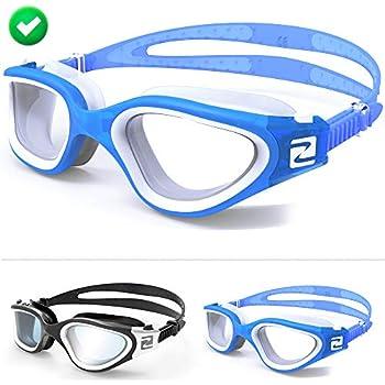 2550f1fb244fc ZABERT Schwimmbrille, W1 Schwimmbrillen für Erwachsene Herren Damen Männer  Frauen Kinder Profi Schwimmen Brille Antibeschlag