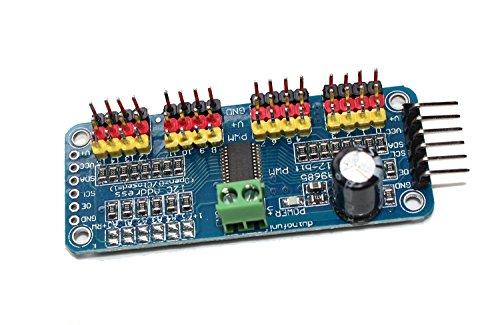 haoyishang pca968516-Kanal 12-bit PWM Servo Motor Driver IIC Schnittstelle Modul für Arduino Roboter Raspberry Pi Shield Modul - 3