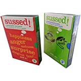 2 Sussed Card Games: Emotional Intelligence and Personality Quiz Game(18+).New,Factory Sealed.