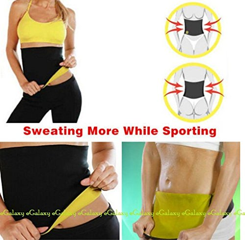 eGalaxy - Hot Shapers Slimming Belt - Size : L - Color : Black