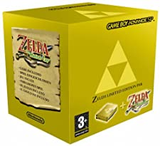 CONSOLE Game-Boy Advance The Legend of Zelda : The Minish Cap Pak