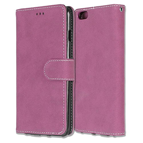 iPhone Case Cover Housse en cuir pleine fleur en cuir PU Housse en étui givré pour porte-monnaie avec fentes pour cartes Cadre photo pour Apple IPhone 6 6s Plus ( Color : 1 , Size : Apple IPhone 6 6s  2