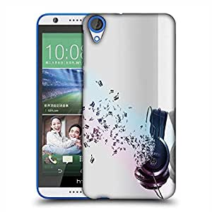 Snoogg Music Comes From The Headphones Designer Protective Phone Back Case Cover For HTC Desire 820