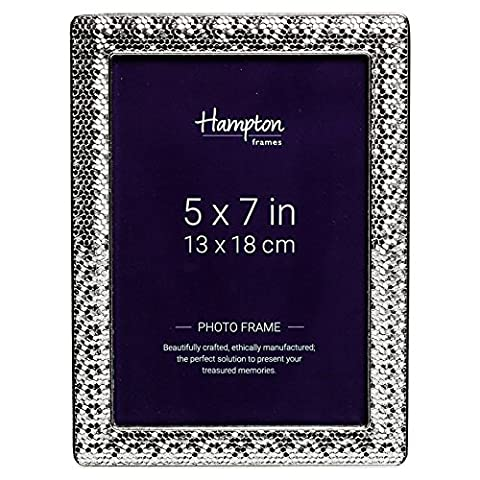 KEL57PL Kelly Platinum Finish 5x7 (13x18cm) Photo Picture Display Frame