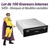 '100Stück Brenner DVD internen SATA 5,25Philips Sony LG NEC TOSHIBA Plextor PX