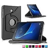 Schutzhülle für Samsung Galaxy Tab A SM-T580 SM-T585 10.1 Zoll Smart Slim Case Book Cover Stand Flip (Schwarz) NEU