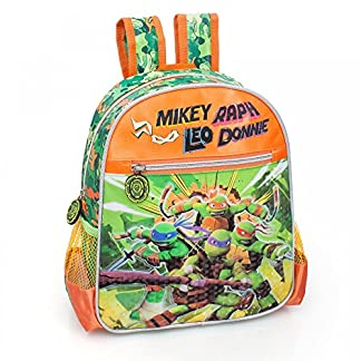 Ninja Turtles – Mochila infantil escolar