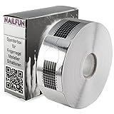 Nailfun–1rotolo (500pezzi) autoadesivo argento quadrato pendente (modellare modellazione modelli per unghie artificiali unghie