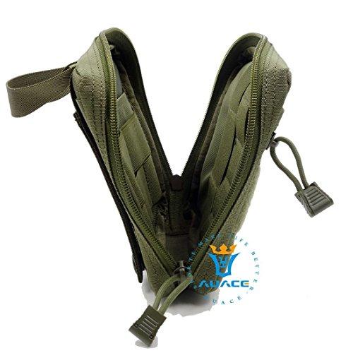 Multifunktions Survival Gear Tactical Beutel MOLLE Beutel Medical Erste Hilfe Tasche Utility Werkzeug Tasche, Outdoor Camping Taille Bag Travel Tasche Handy Tasche OD