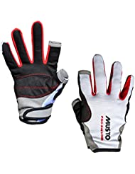 Musto Essential Sailing Long Finger Gloves in White AS0803 Sizes- - Medium